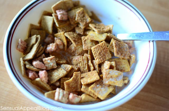 www.sensualappealblog.com //  cereal