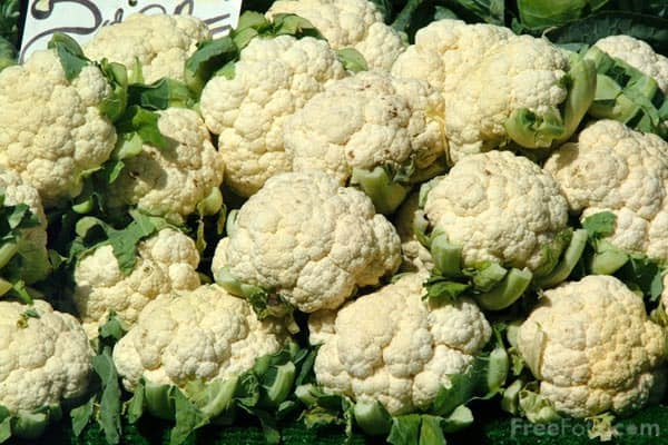 Use cauliflower for rice