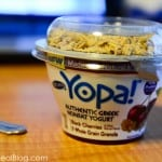 Yopa! greek yogurt in cherry