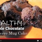 Double Chocolate Microwave Mug Cake! OMG