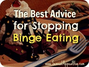 The best advice for stopping binge eating