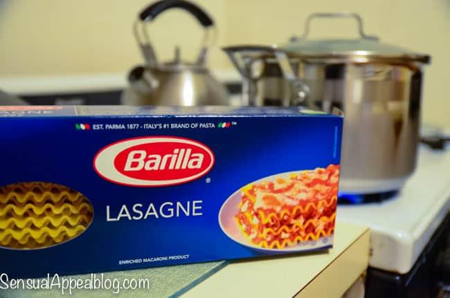 Veggieful Mushroom Lasagna Recipe with Barilla #MoreIsBetter