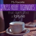 The best Stress Relief Techniques that don