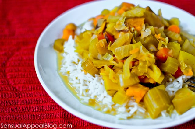 lightened up crock pot curry