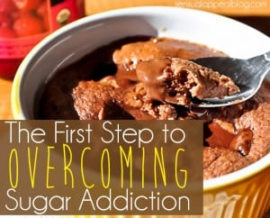 The First Step to Overcoming Sugar Addiction