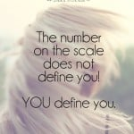The number does not define you!