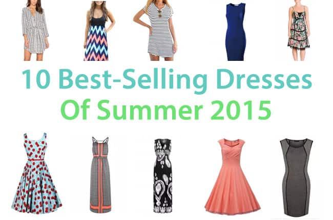 10 Best-Selling Dresses of Summer 2017