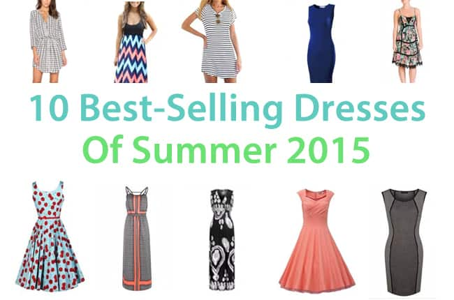 10 best-selling summer dresses