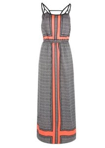DEX Spaghetti Strap Maxi Dress