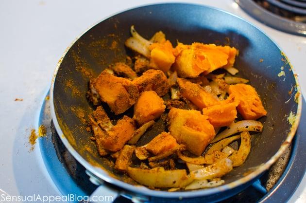 Sweet Potato Hash