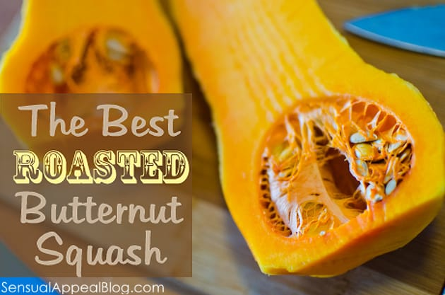 The BEST roasted butternut squash I've ever had!