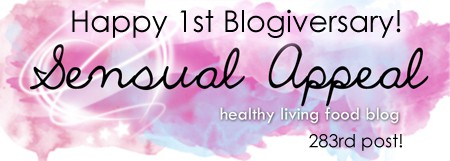 Happy Blogiversary to Sensual Appeal