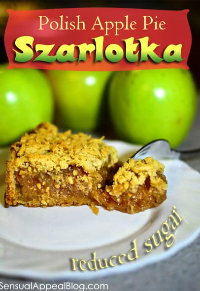 Szarlotka or Polish Apple Pie // sensualappealblog.com
