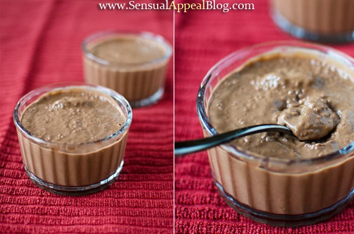Chocolate Peanut Butter Chia Pudding - this is HEALTHY??? Wow!