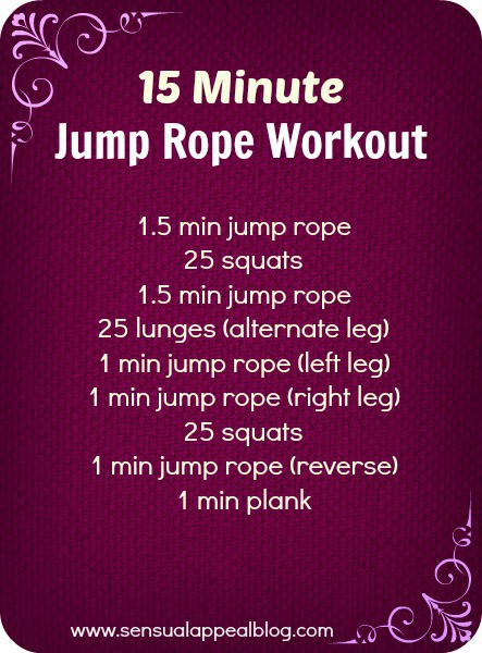 15 Jump Rope Workout