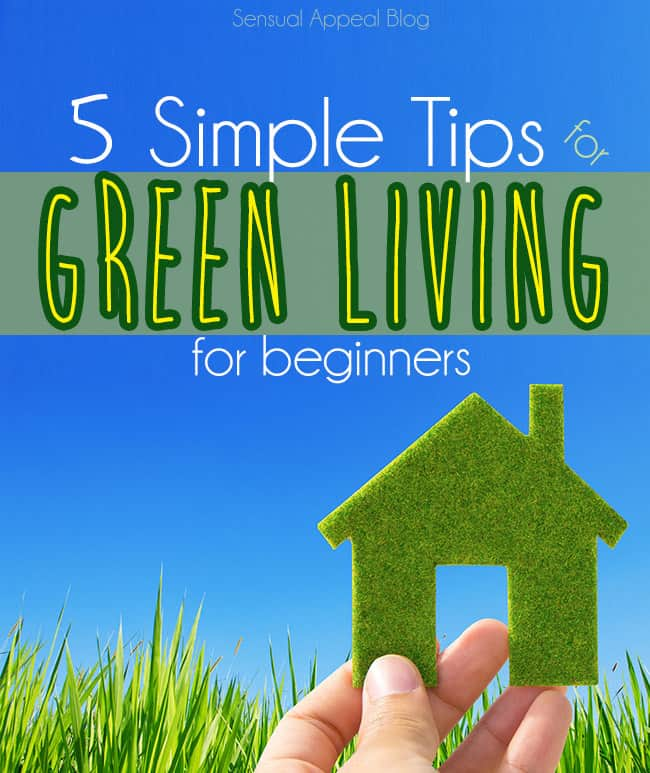 5 Simple Tips for Green Living for Beginners