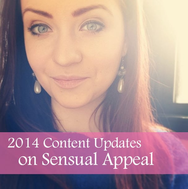 Content updates for Sensual Appeal - 2014