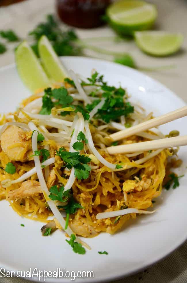 Paleo Chicken Pad Thai - delicious and so easy! #MyMarianos #shop