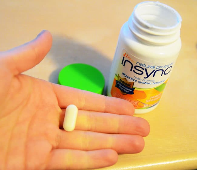 Insync Probiotic at Walgreens #shop #NaturalProbiotic