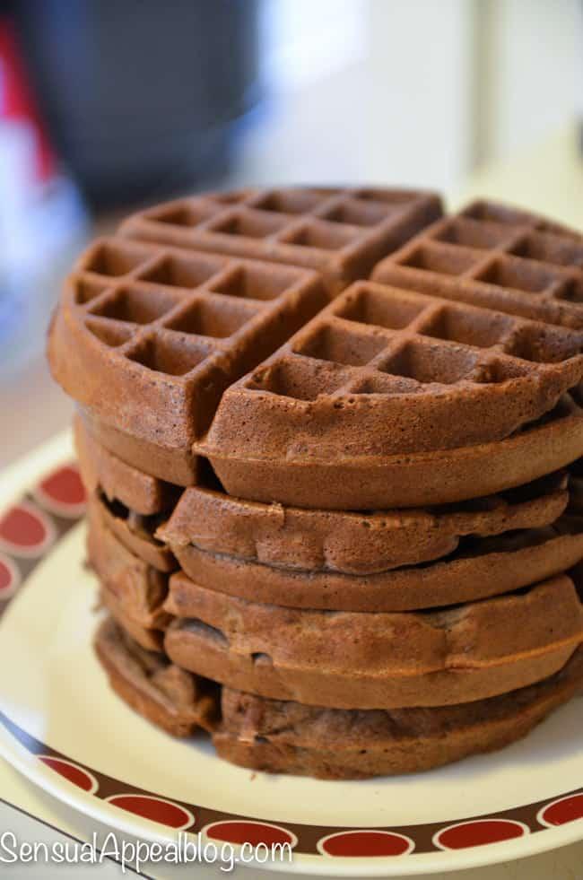 Java Mocha Gluten Free Waffles Recipe
