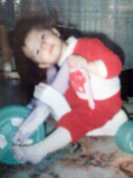 So technically I wasn't THAT young when I got the shots but hey, no one can oppose a good childhood pic right? ;P