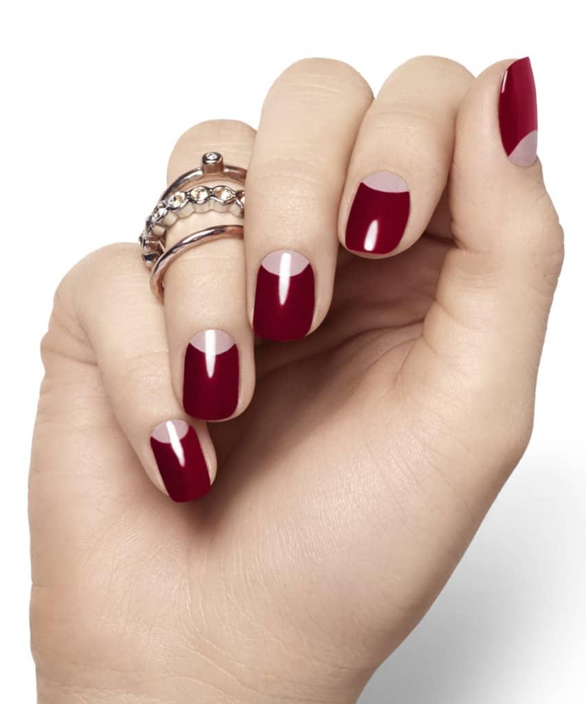 Bordeaux red nail polish top nail polish trends of 2015
