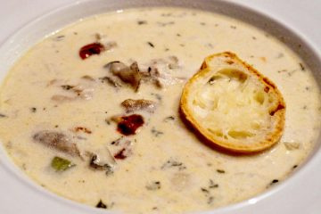 oyster showder soup