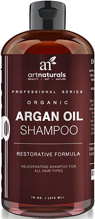 Art Naturals Daily Organic Argan Oil Shampoo