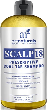 Art Naturals Scalp 18 Coal Tar Anti-Dandruff Shampoo