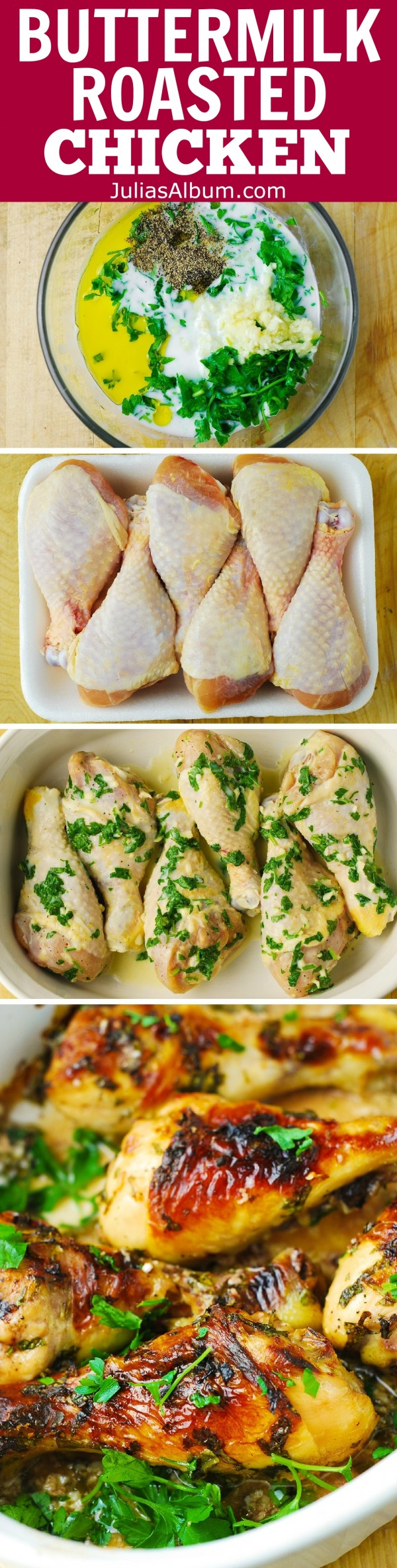 50 Best Chicken Recipes Ever - Get the recipe ♥ Buttermilk Roasted Chicken @recipes_to_go