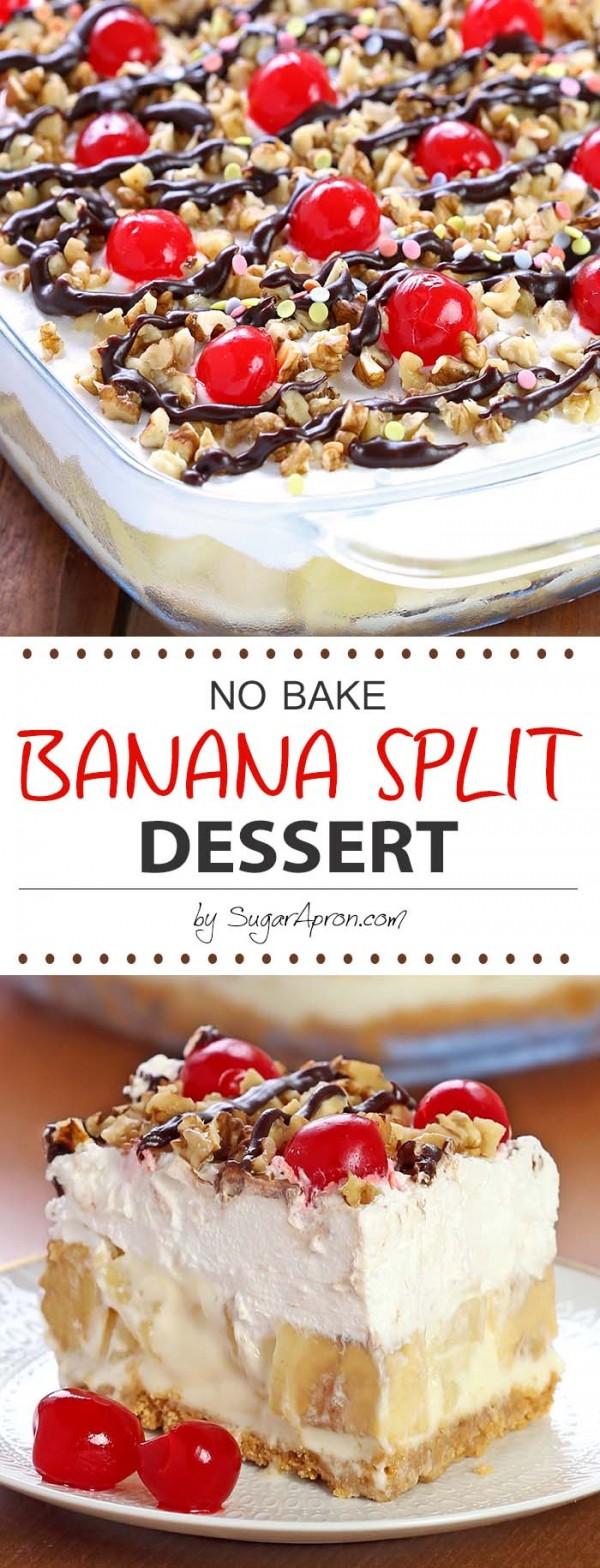 Get the recipe ♥ No Bake Banana Split Dessert #besttoeat @recipes_to_go