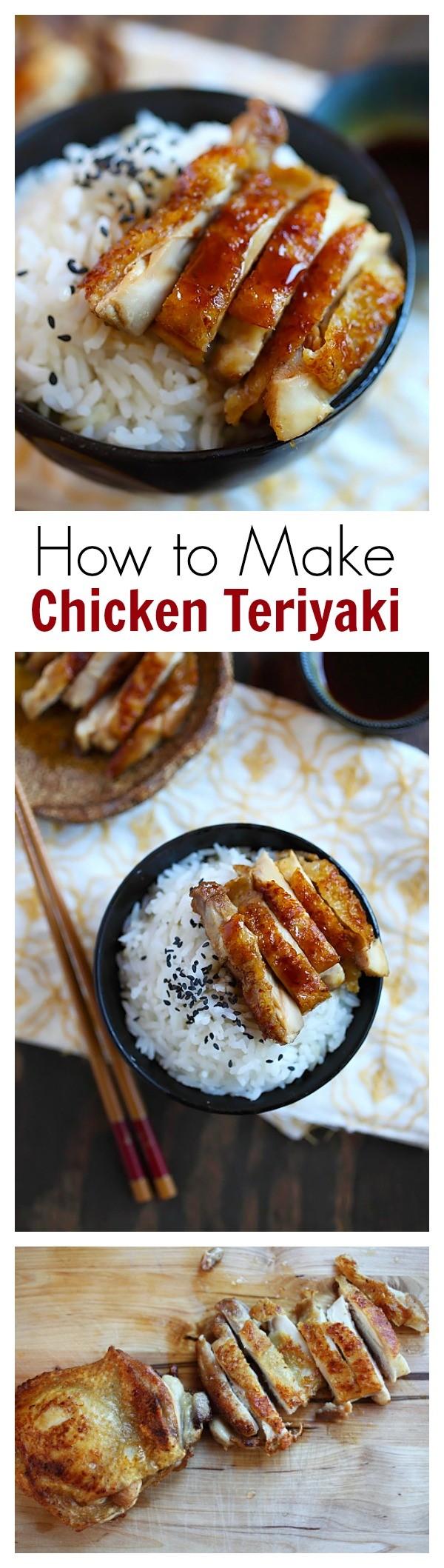 50 Best Chicken Recipes Ever - Get the recipe ♥ Chicken Teriyaki @recipes_to_go