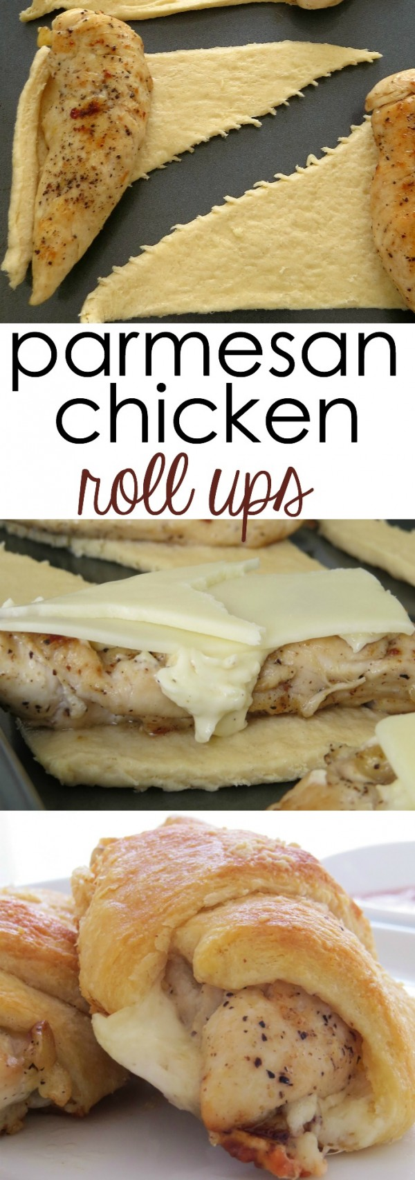50 Best Chicken Recipes Ever - Get the recipe ♥ Parmesan Chicken Roll Ups @recipes_to_go