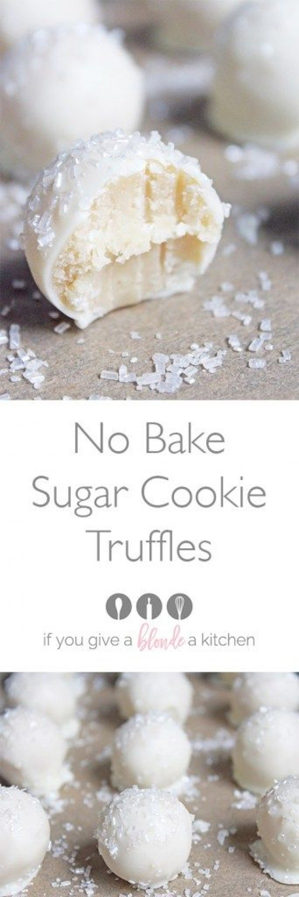 Get the recipe ♥ No Bake Sugar Cookie Truffles #besttoeat @recipes_to_go