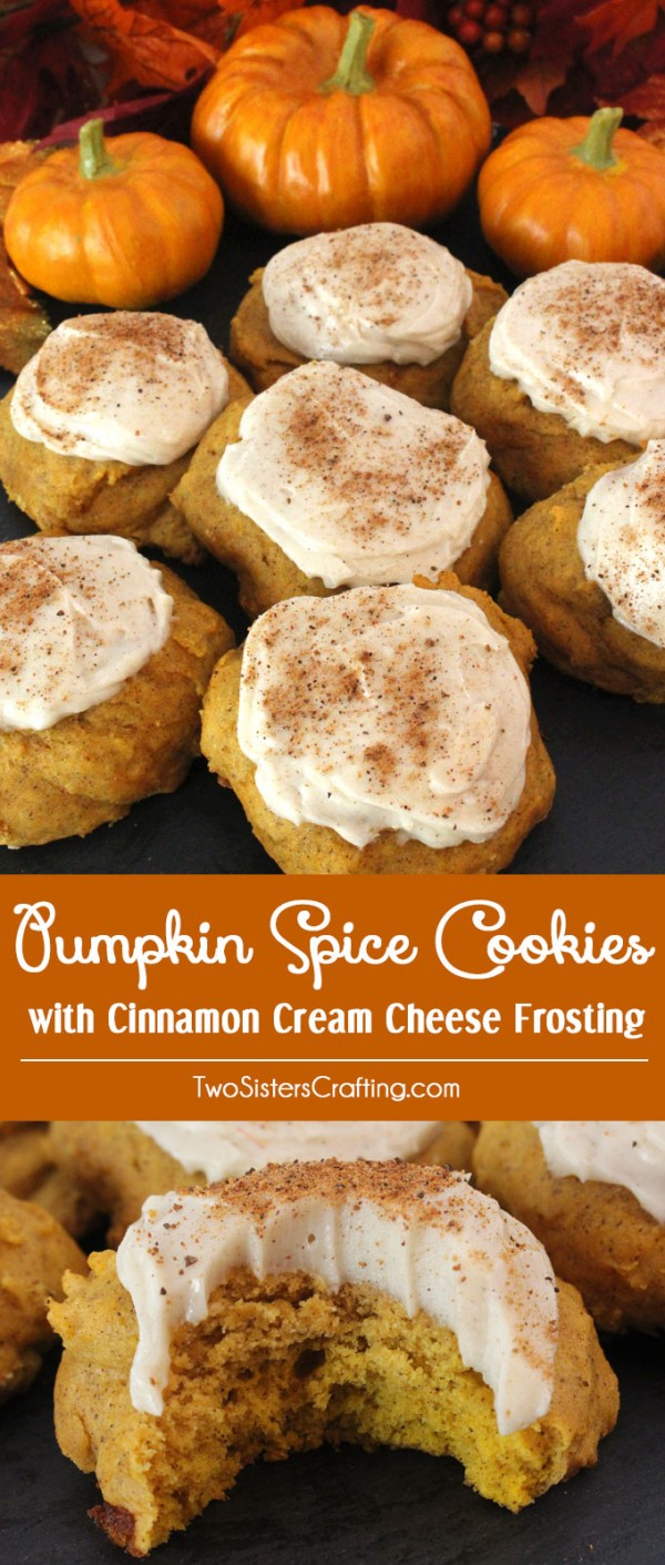 Get the recipe ♥ Pumpkin Spice Cookies #besttoeat @recipes_to_go