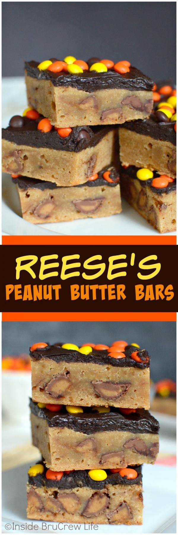 Get the recipe ♥ Reese's Peanut Butter Bars #besttoeat @recipes_to_go