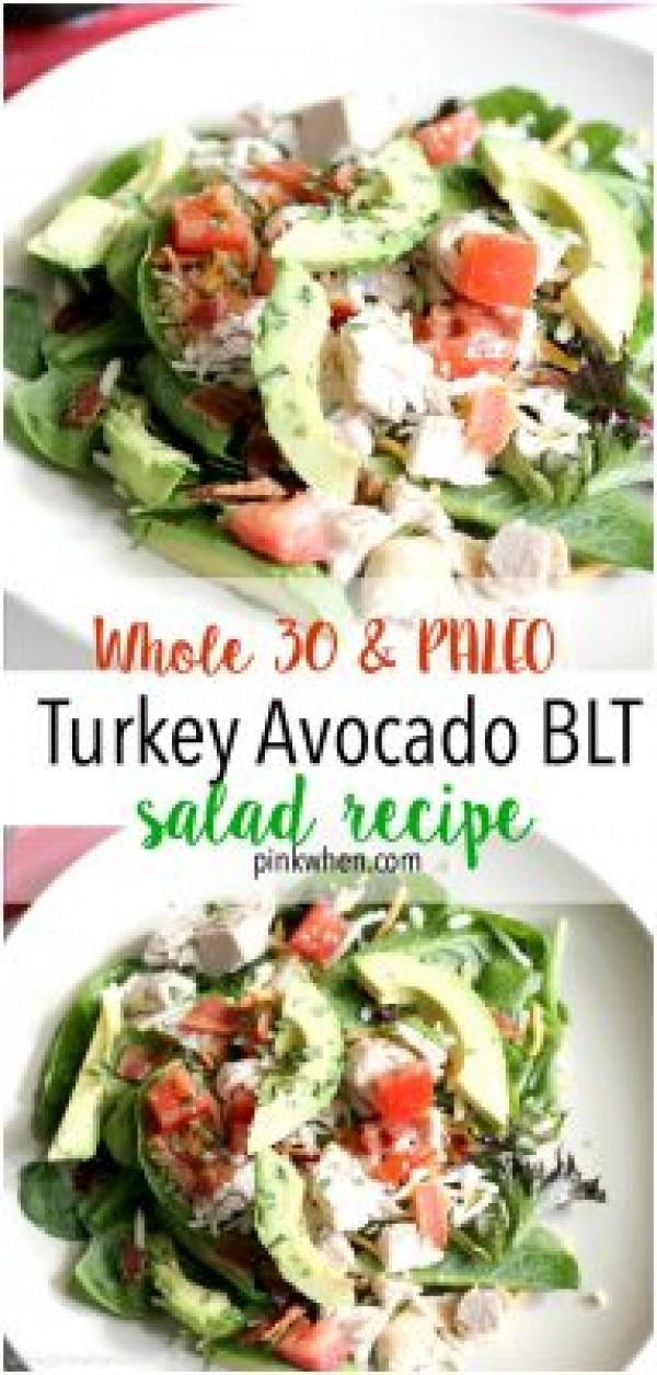 Get the recipe Turkey Avocado BLT Salad @recipes_to_go