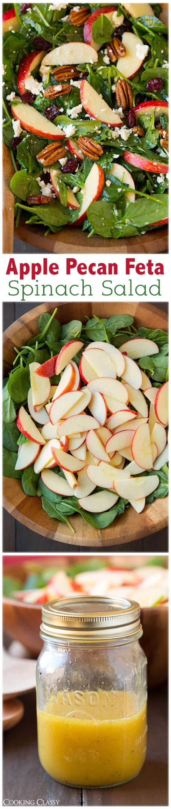 Get the recipe Apple Pecan Feta Spinach Salad @recipes_to_go