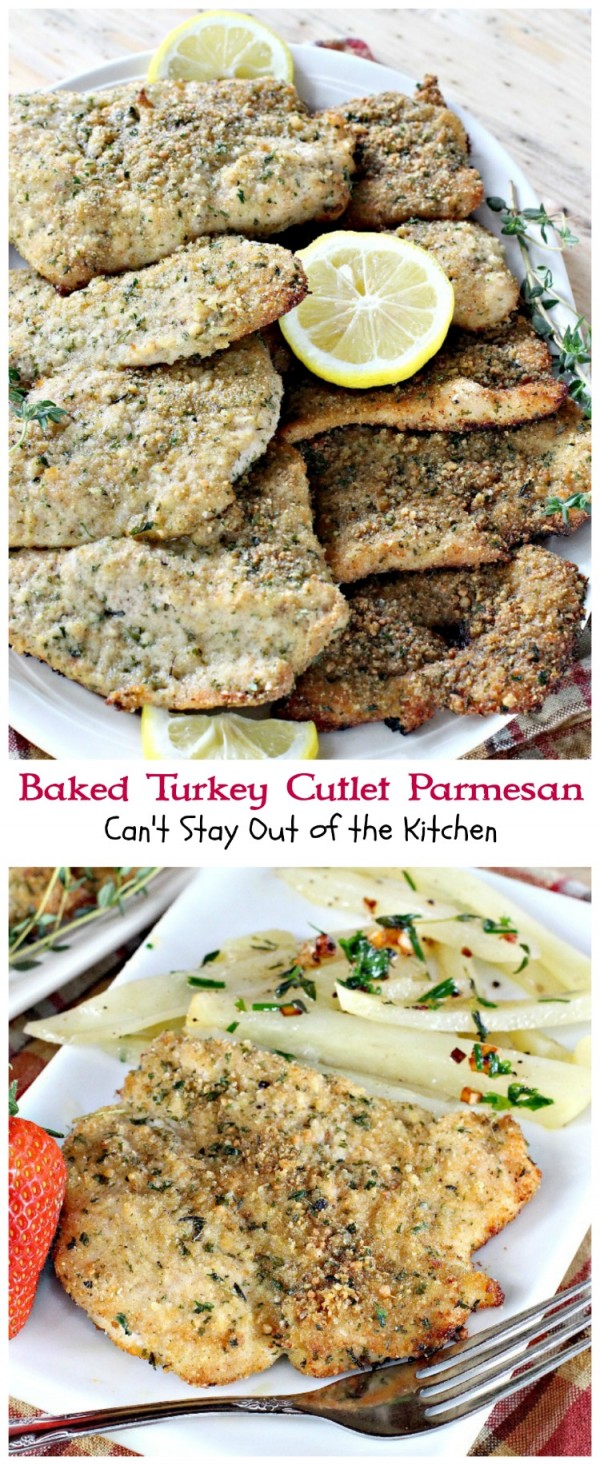 Get the recipe Baked Turkey Cutlet Parmesan @recipes_to_go