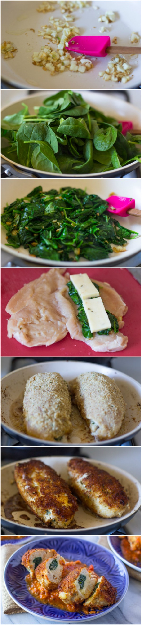 Get the recipe Breaded Chicken Breasts Stuffed with Spinach and Cheese @recipes_to_go