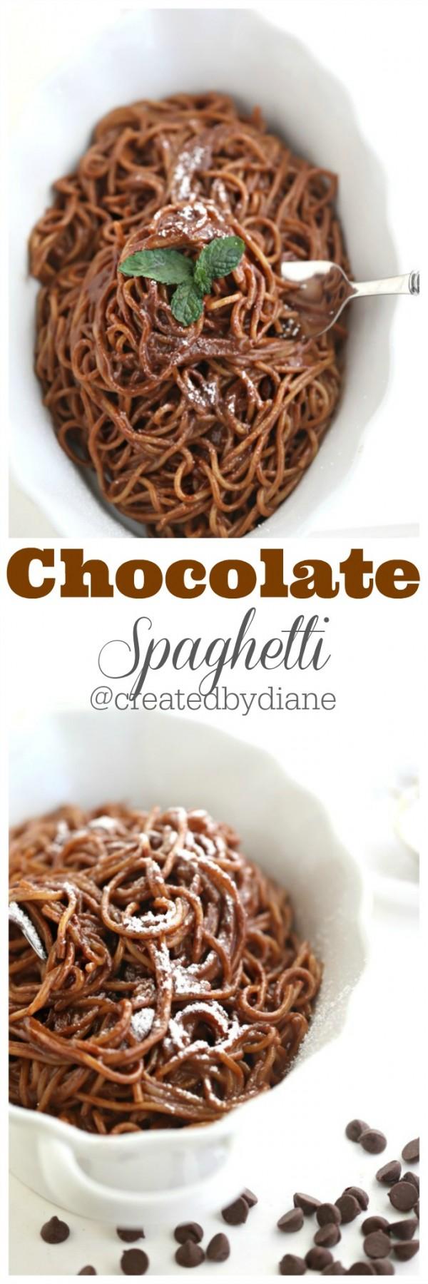 Get the recipe Chocolate Spaghetti @recipes_to_go