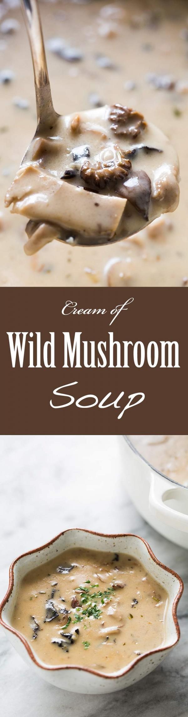 Get the recipe Cream of Wild Mushroom Soup @recipes_to_go