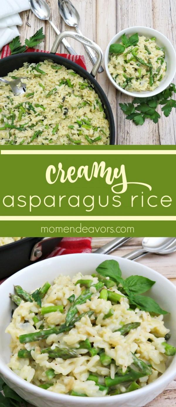 Get the recipe Creamy Asparagus Rice @recipes_to_go