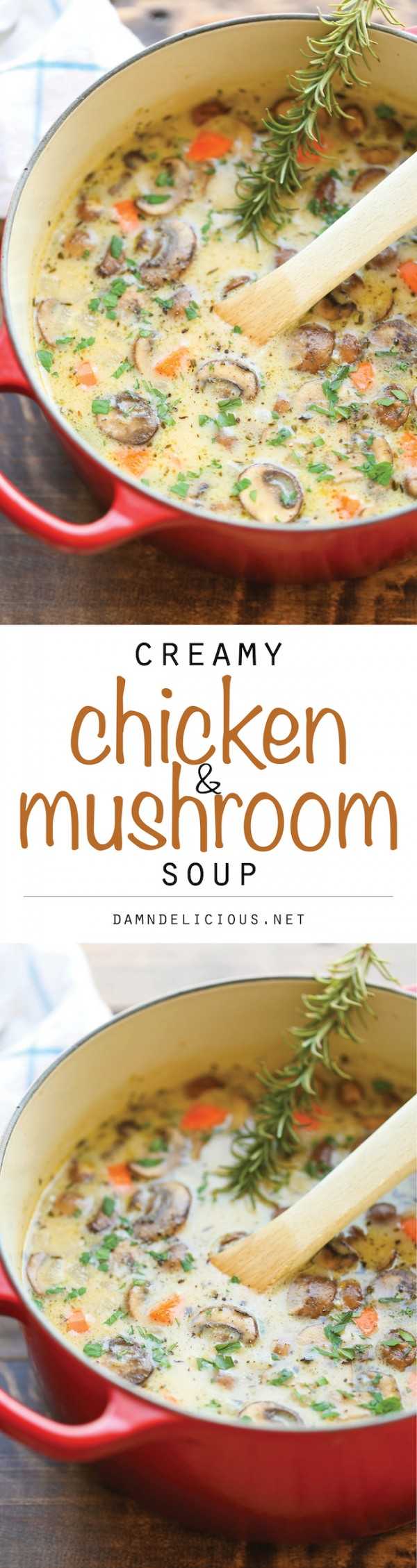 Get the recipe Creamy Chicken and Mushroom Soup @recipes_to_go