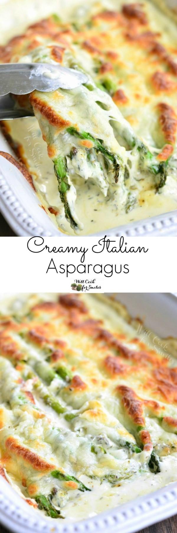 Get the recipe Creamy Italian Asparagus @recipes_to_go