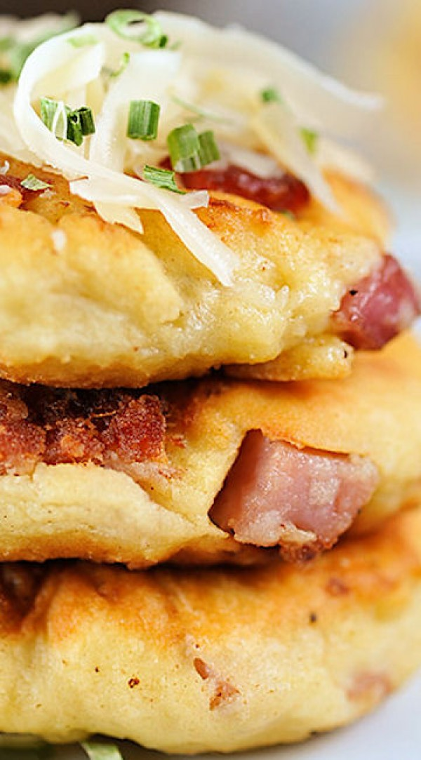 Get the recipe Ham and Cheese Potato Pancakes @recipes_to_go