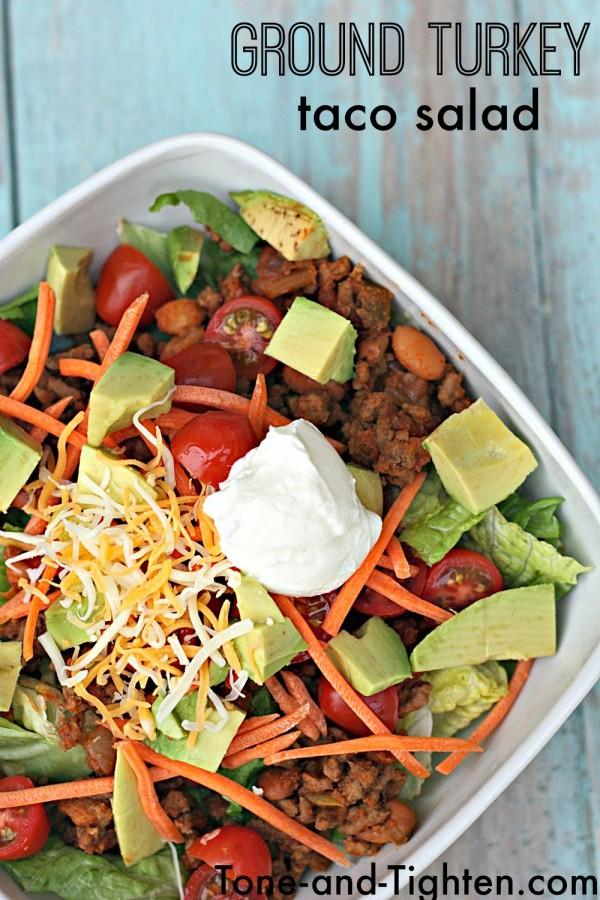 Get the recipe Ground Turkey Taco Salad @recipes_to_go