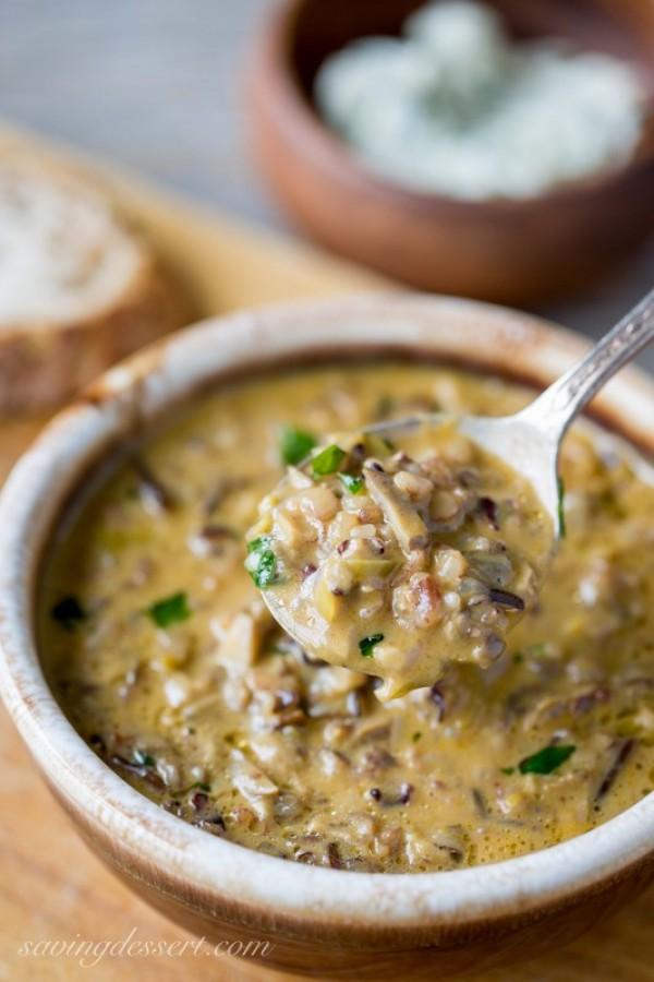 Get the recipe Wild Rice & Mushroom Soup @recipes_to_go