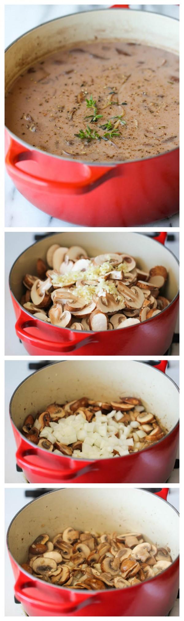 Get the recipe Homemade Cream of Mushroom Soup @recipes_to_go