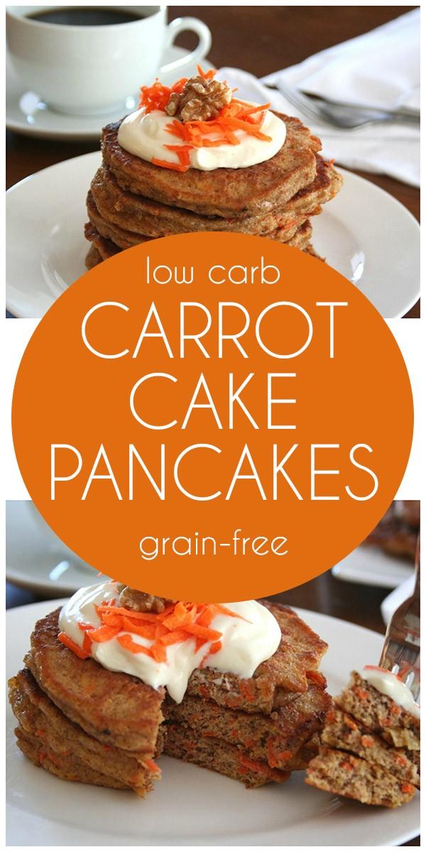 Get the recipe Carrot Cake Pancakes @recipes_to_go